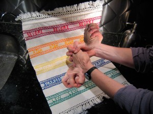 Handwringing Kitchen Towel