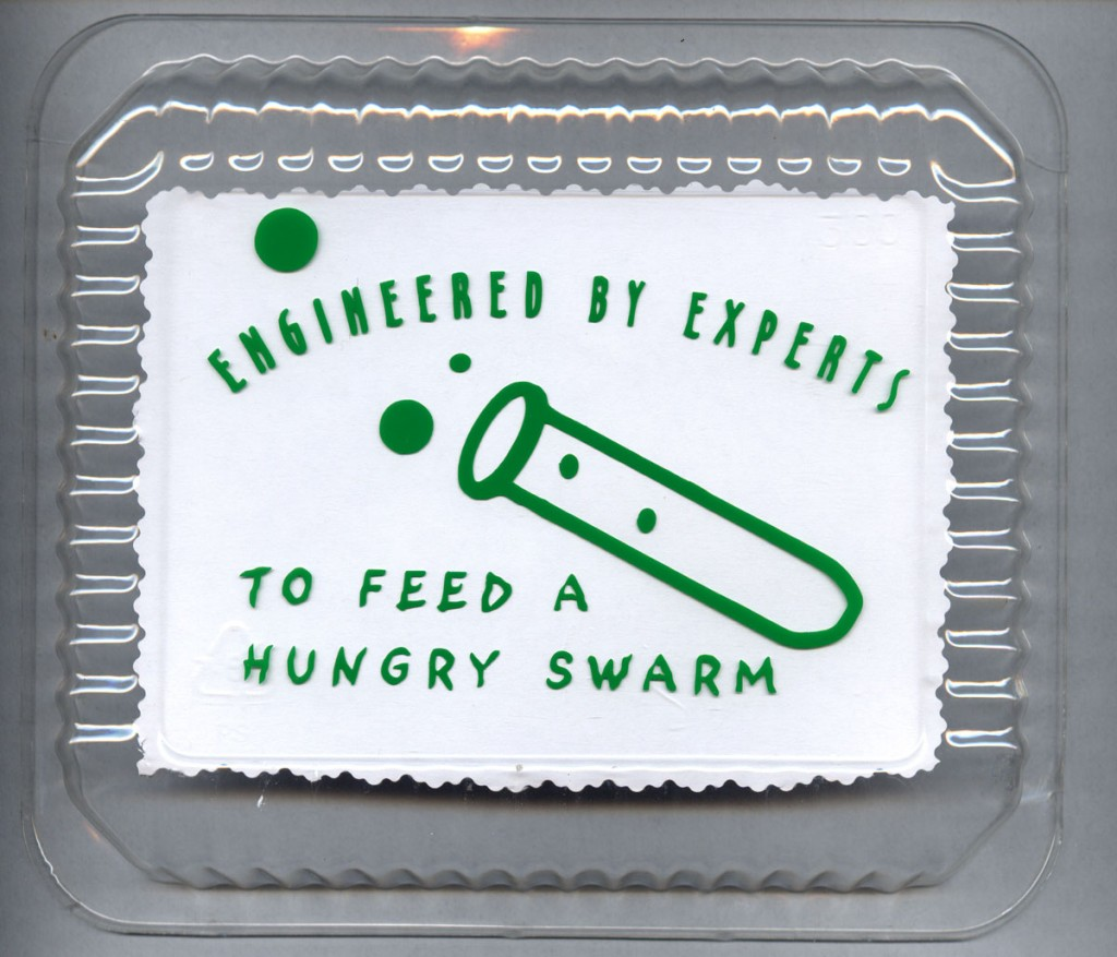 Engineered by Experts food label by Christy Rupp