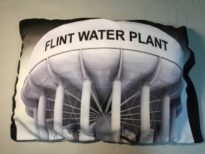 Flint Water Plant, the tower used to store contaminated municipal water
