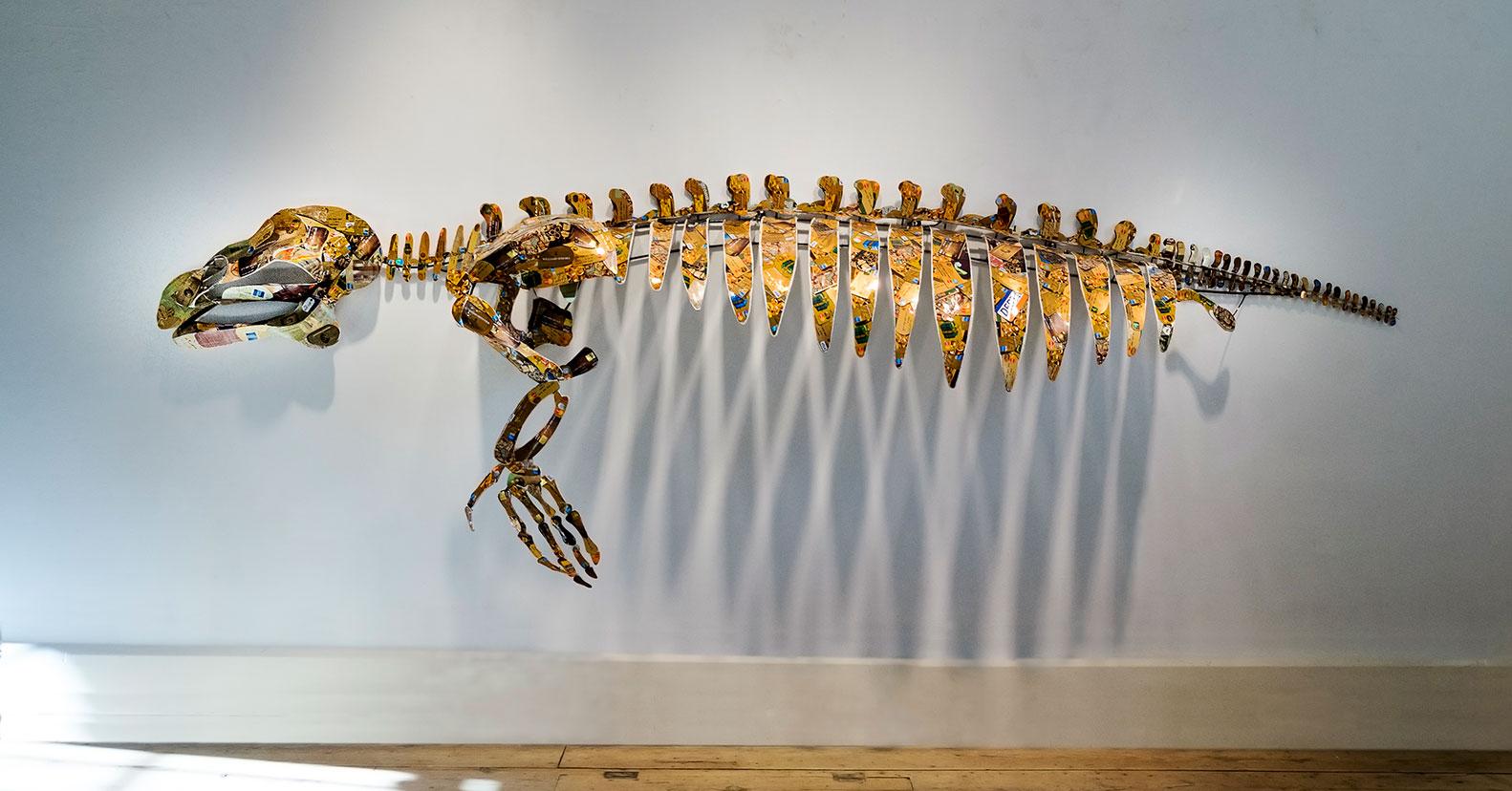 Manatee sculpture by Christy Rupp