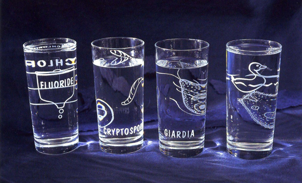 Watershed Glassware by Christy Rupp
